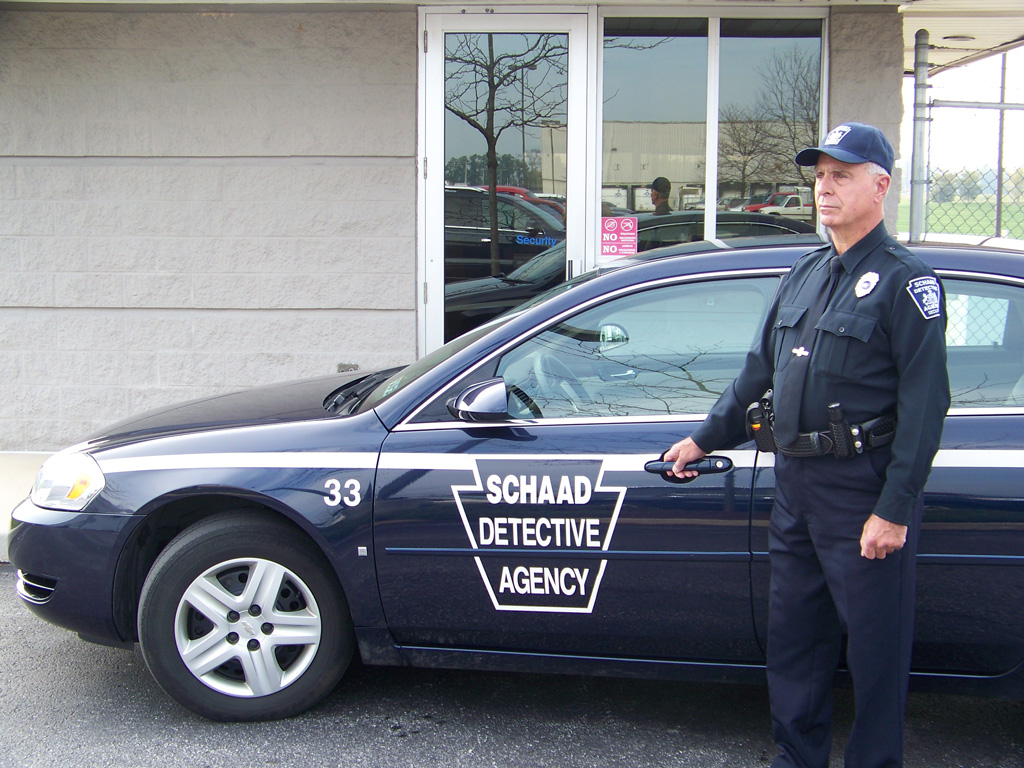 Security Officer Providing Service in Harrisburg Pennsylvania